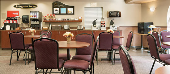 Breakfast Room at Days Inn & Suites Thunder Bay North