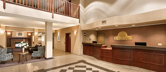 Hotel Lobby at Days Inn & Suites Thunder Bay North